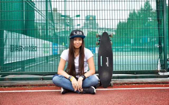 滑板界的网红——Allover八轮滑板体验