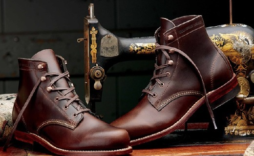 WOLVERINE工装靴,能走1000英里的靴子