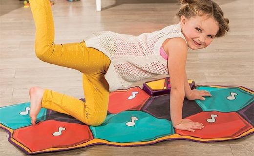 B.toys音乐跳舞毯:多种玩法舒压启蒙,培养孩子音乐兴趣