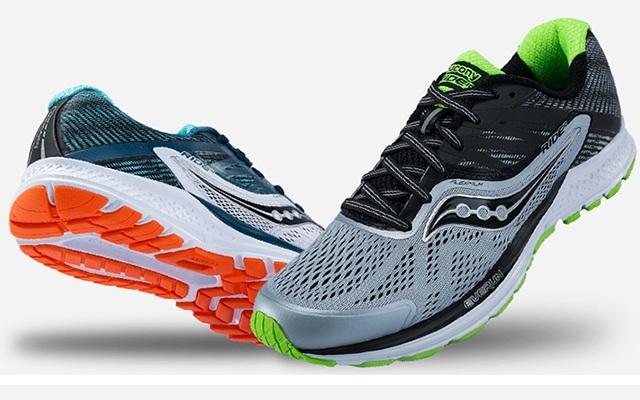 Saucony Ride 10 舒适缓震跑步鞋