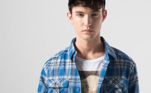 龙狮戴尔速干格子衬衫:速干面料透气排汗,经典格纹舒适有型