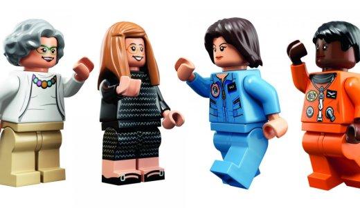 乐高发新产品,纪念宇航局女员工的努力工作