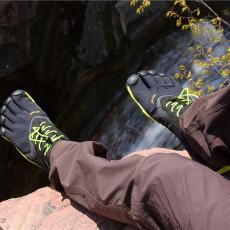 透气缓震抓地力强,Vibram 五指鞋 V-RUN体验