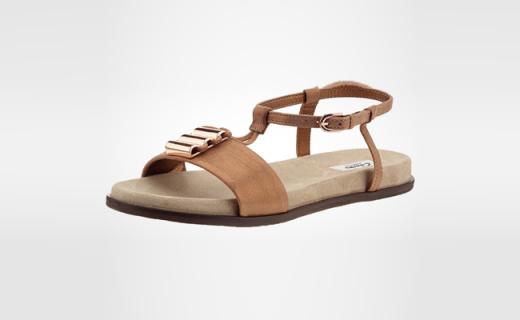 Clarks女士凉鞋:超柔软麂皮绒内衬,走的越久越舒服