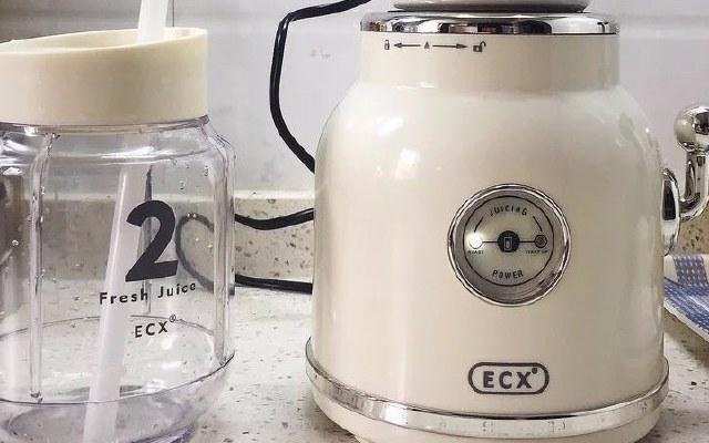 呆萌可爱ECX多功能水果碰碰机快速做出美味果汁