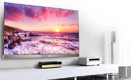 海信4K激光投影电视,100吋大屏还能看IMAX 3D