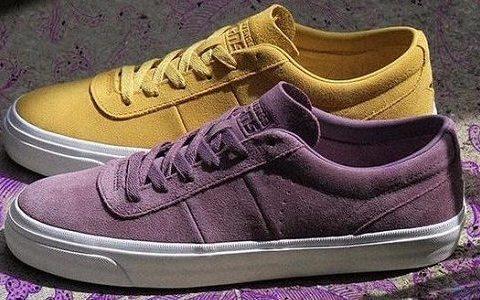 湖蜜的狂欢:匡威发布全新紫金配色板鞋