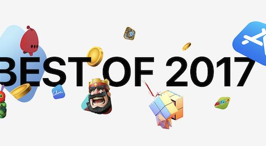 苹果2017年最佳应用公布,中国地区这6款光荣上榜