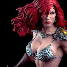 晒物 |  血脉喷张!sideshow年度佳品红发索尼亚雕像