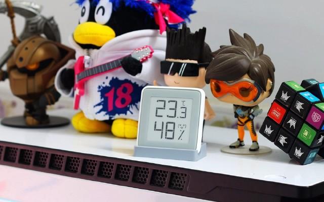 测量精准 颜值高,细心呵护家人健康 — 秒秒测温湿度计