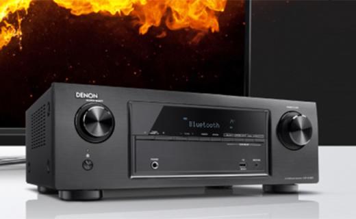 天龙AVR-X518CI功放:5声道分离环绕音强劲精准,支持4K输出