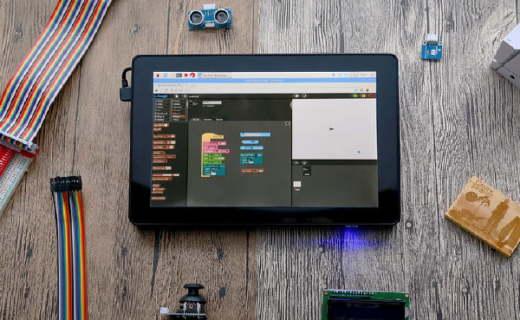 简单易用的树莓派平板 带你快速入门计算机编程