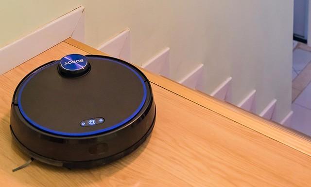 """楼梯、地毯、冰箱贴,真正做到无""""屑""""可击——BOBOT激光导航扫地机器人"""