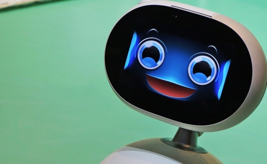 华硕携手腾讯推智能机器管家,外观呆萌功能丰富