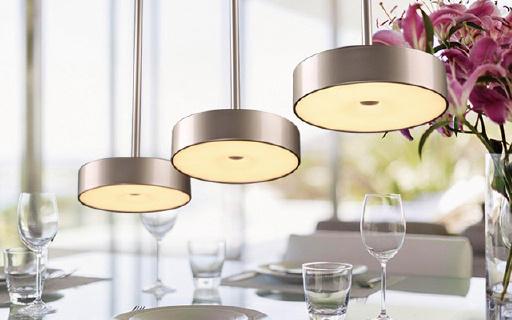 想要欧式装修从选灯开始   松下三头餐吊灯4折优惠
