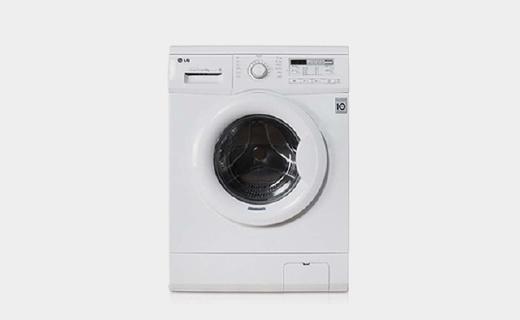LG超薄变频洗衣机半价优惠,6种模式洗衣比手洗更干净