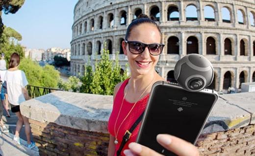 朋友圈装X神器Insta360 Air,一键拍摄全景VR