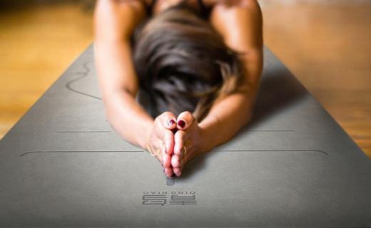 青鸟5mm瑜伽垫:体位线印制,帮你做瑜伽动作更标准