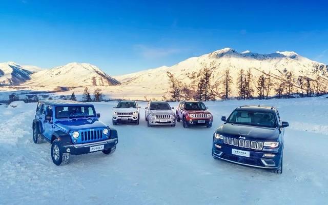 -30℃开Jeep穿越北疆,4轮驱动强悍性能雪地任驰骋