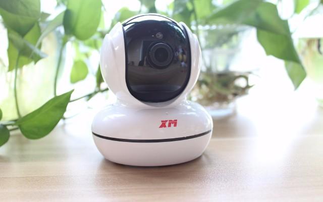 雄迈云台摄像机上手体验:360°守护居家安全 | 视频