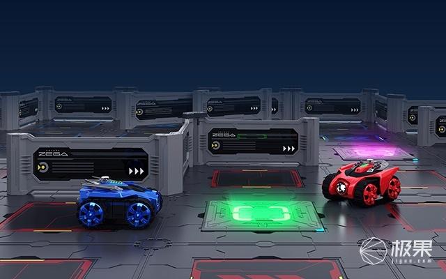 银河战甲(GalaxyZEGA)Leo&Gondar遥控车