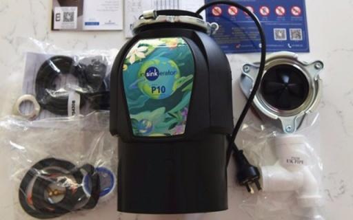 爱适易P10垃圾处理器体验,粉碎食物残渣,统统冲进下水道