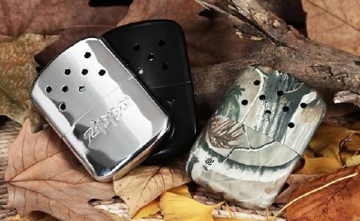 安全小巧的Zippo暖手炉,让你双手不再受冻