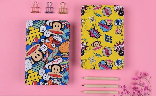 大嘴猴波普笔记本:铁艺外皮超强防水,做笔记手账都合适