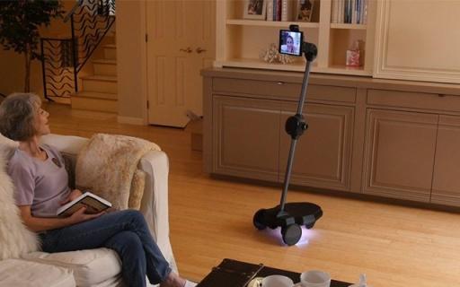 随时和父母面对面交流!这个机器人帮你做到