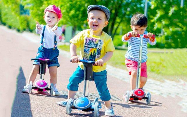 法国GLOBBER高乐宝四合一儿童滑板车