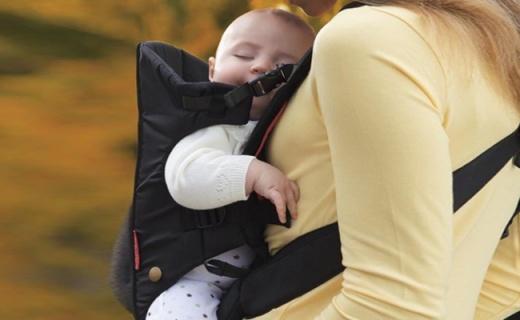 Infantino背婴带:柔软透气?;ぞ弊?,舒适便捷背负体验