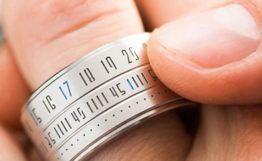 能当手表的黑科技戒指,旋转看时间超炫酷