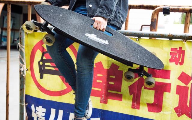 Allrover炫酷8輪滑板,讓初學者也能霸氣下臺階