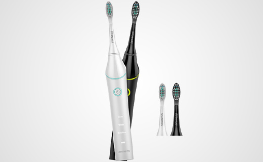 声波电动牙刷,超静音清洁效果更好
