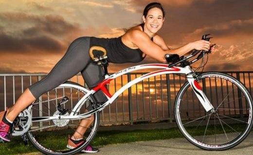 趴着骑的自行车,超小阻力带给你飞翔的感觉