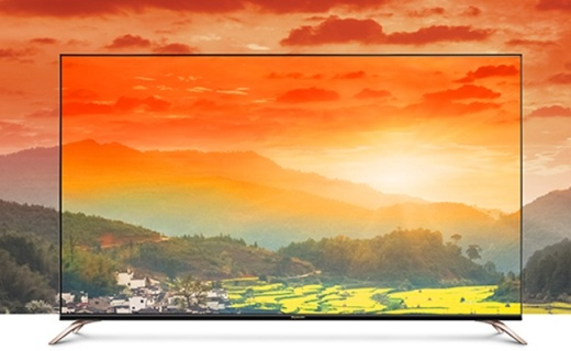 还原最真实色彩,高清画质完爆同价位所有电视