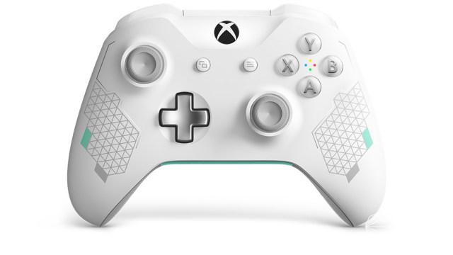 微软(Microsoft)XBOXONESpoetWhite全新运动白手柄