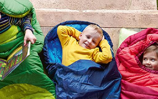 JAKO-O Extendible儿童睡袋:材质防水抑菌又保暖,可伸缩收纳