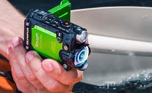 奥林巴斯4K运动相机,超强防抖还带翻转屏