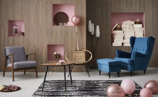 宜家复古潮范儿新品推出,谁说IKEA只有原木色?