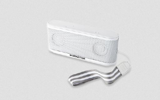 魔声便携蓝牙音箱:三扬声器低音澎湃,降噪麦克风支持语音通话