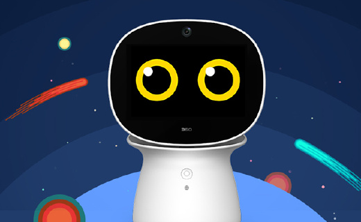 360AR儿童智能机器人,陪娃成长不孤单