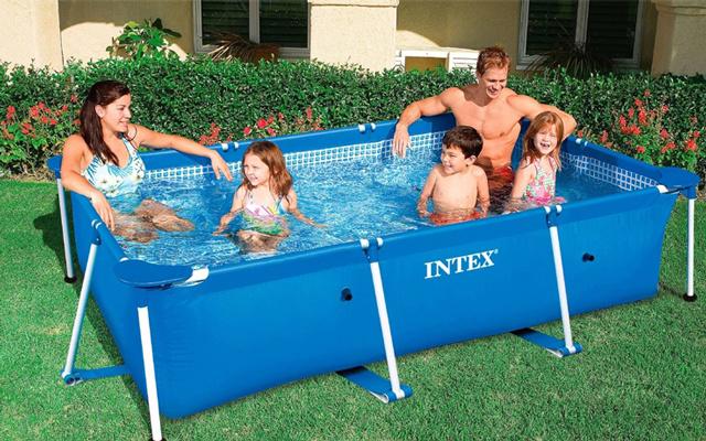 INTEX夹网水池