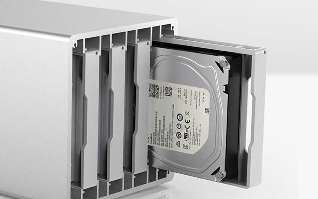 不要再买云盘会员,有这神器在家就能搭NAS — 奥睿科 3.5英寸硬盘柜评测