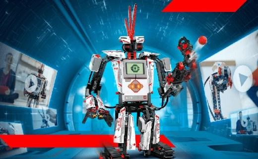 乐高MINDSTORMS EV3机器人:多模式随你所拼,可编程更耐玩