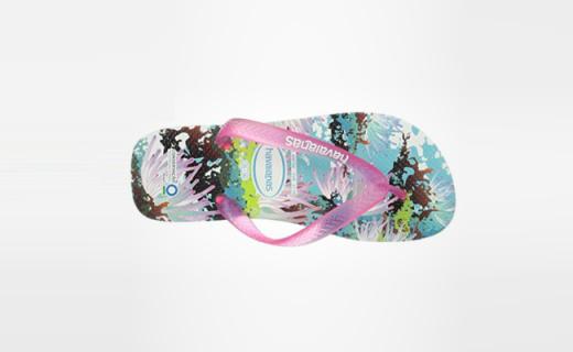 Havaianas人字拖:天然橡胶纯手工制作,饱满色彩盛夏专属