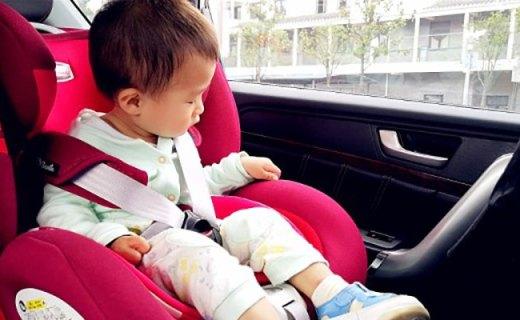 猫头鹰卢娜安全座椅测评,安全防侧撞,乘坐不摇晃