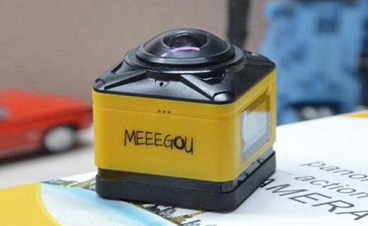 米狗M9运动相机:360°全景视频录制,多拍摄模式支持4K