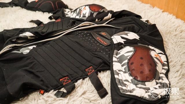 DemonDS0050DemonArmorTecD3O男式长袖护甲(带腰带)