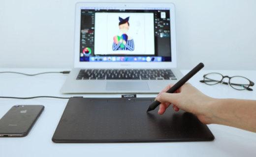 简单好上手,绘画小白也能画出好看的插画,Wocom CTL-6100WL数位板测评